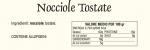 Dichiarazioni Nutrizionali Nocciole Tostate