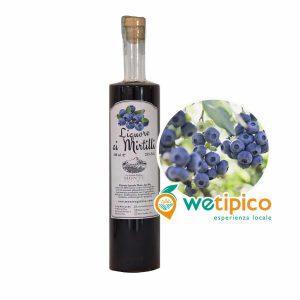 Liquore ai mirtilli della Val Susa