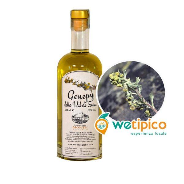 Genepy liquore di erbe alpine