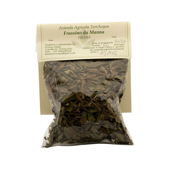 tisana di foglie di frassino