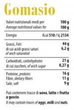 Gomasio - Tabella Nutrizionale