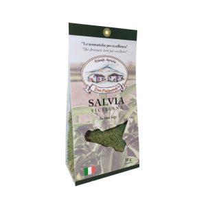 Salvia siciliana essiccazione naturale