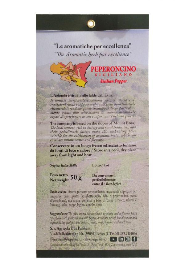 Peperoncino siciliano caratteristiche