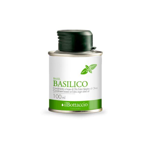 Extravergine aromatizzato al basilico