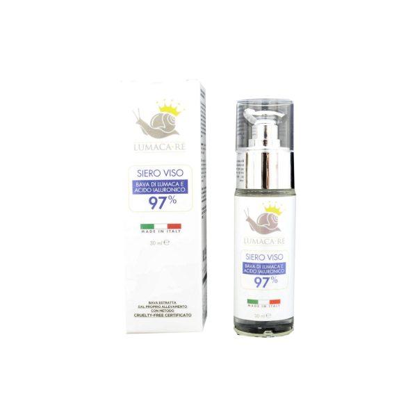 Siero Viso alla Bava di Lumaca e a Acido Ialuronico 30 ml