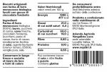 Rustici - Tabella Nutrizionale