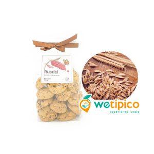 Rustici biscotti di farina di farro