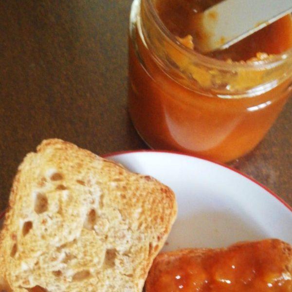 Confettura extra di Albicocca del Vesuvio con frutta a pezzi 2