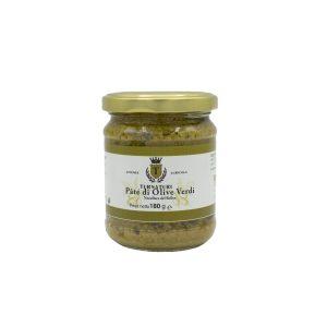 Paté di Olive Verdi di Nocellara del Belice 180 gr