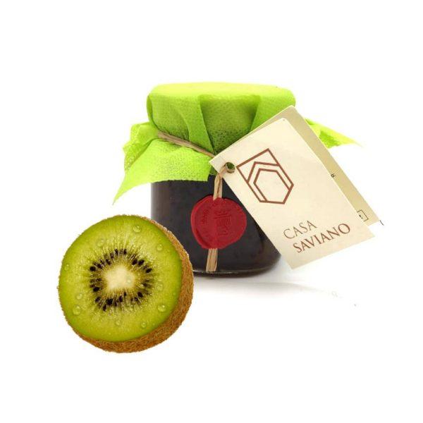 Confettura Extra di Kiwi con frutta a pezzi