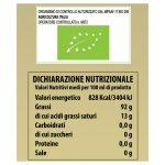 """Olio Extravergine di Oliva biologico Rosciolo di Rotello """"Zaira"""" 500 ml etichetta"""