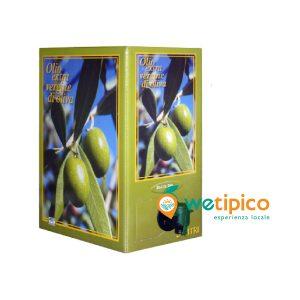 "Olio Extravergine di Oliva Dop Valle del Belice ""Sette Templi"" 5 lt box"