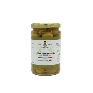 Olive Verdi di Sicilia intere