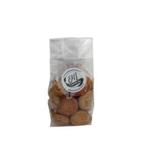Fior di Ceci – Biscotti con farina di ceci neri da 250 gr