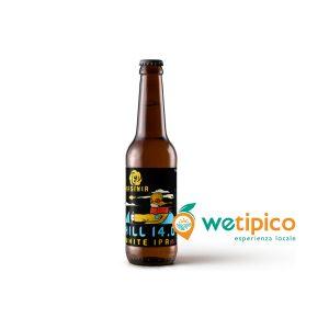 "White IPA ""Hill 14.0"" – birra agricola toscana"