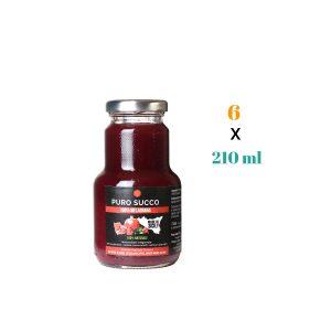 Puro Succo di Melagrana – artigianale siciliano 210 ml 6 pz aggiornato
