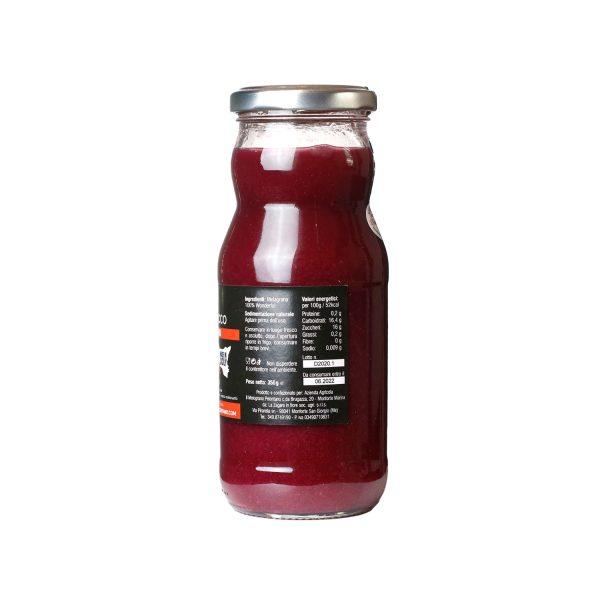 Puro Succo di Melagrana – artigianale siciliano 350 ml etichetta