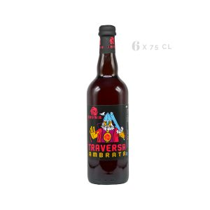 "Bitter Ale Ambrata ""Traversa"" – birra agricola toscana 75 cl"