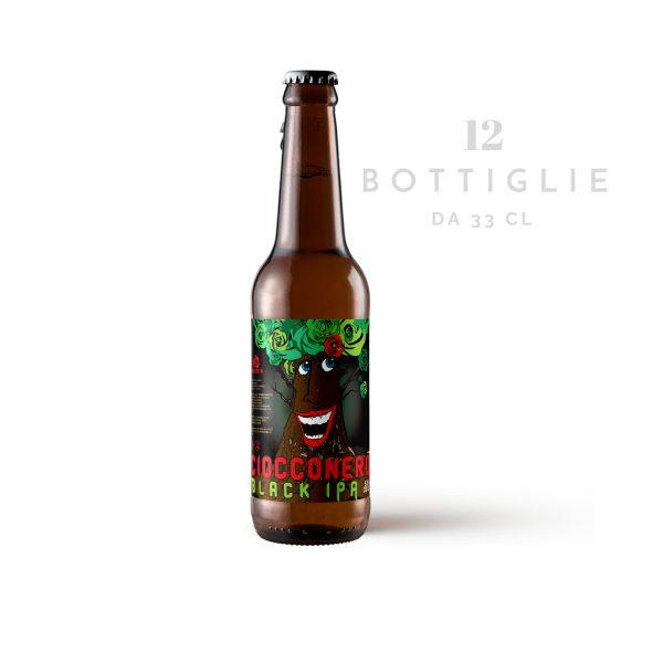 """Black IPA """"Ciocconero"""" – birra agricola toscana"""