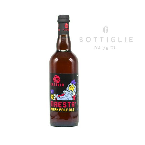 """IPA - Indian Pale Ale """"Maestà"""" – birra agricola toscana 75 cl"""