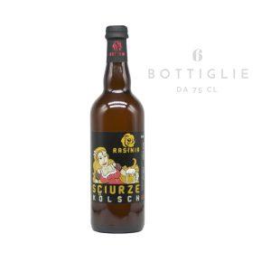 "Kölsch ""Sciurze"" – birra agricola toscana artigianale 75 cl"