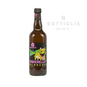 """Blanche """"Biskerella"""" – birra agricola toscana 75 cl"""