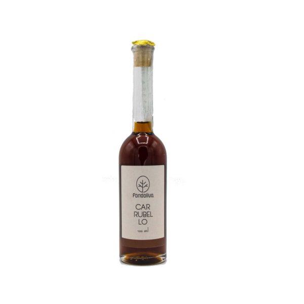 Carrubello liquore di carrube artigianale siciliano 100 ml
