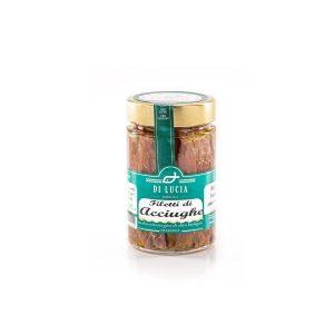 Filetto di acciughe in olio extravergine di oliva biologico