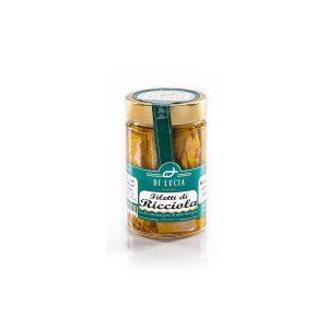 Filetti di Ricciola in Olio Evo biologico da 200 gr
