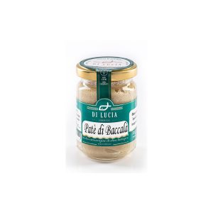 Paté di Baccalà in Olio Extravergine di Oliva biologico da 130 gr