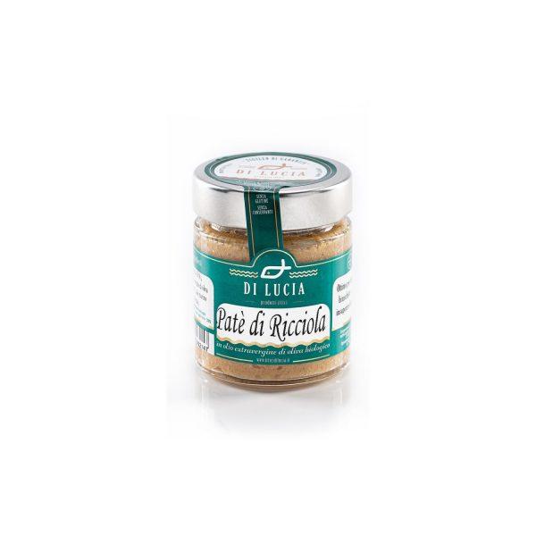 Paté di Ricciola in Olio Extravergine di Oliva biologico da 130 gr