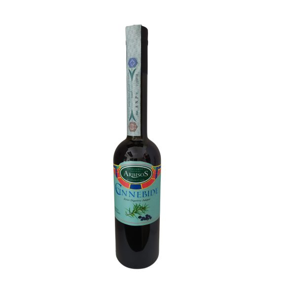 Cinnebide Liquore sardo di Ginepro del Gennargentu