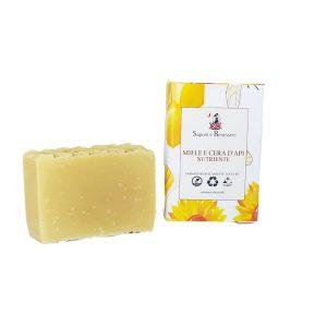 Sapone solido al miele e cera d'api 100 gr Saponi e Benessere